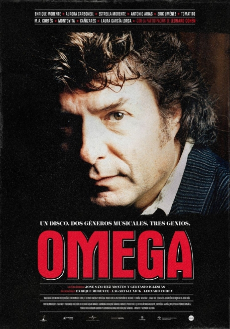 Cartel del documental Omega.